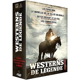 Coffret westerns de légende, vol. 1, 4 films, Dvd