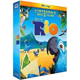 Coffret Rio 1 et 2, Blu-ray