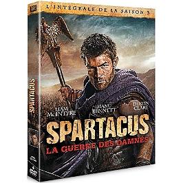 Coffret Spartacus, saison 3 : la guerre des damnés, Dvd