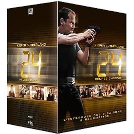 Coffret intégrale 24 h chrono, Dvd