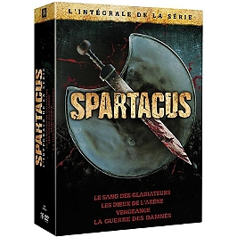Coffret intégrale Spartacus, Dvd