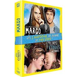 Coffret John Green 2 films : la face cachée de Margo ; nos étoiles contraires, Dvd