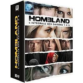 Coffret homeland, saison 1 à 5, Dvd