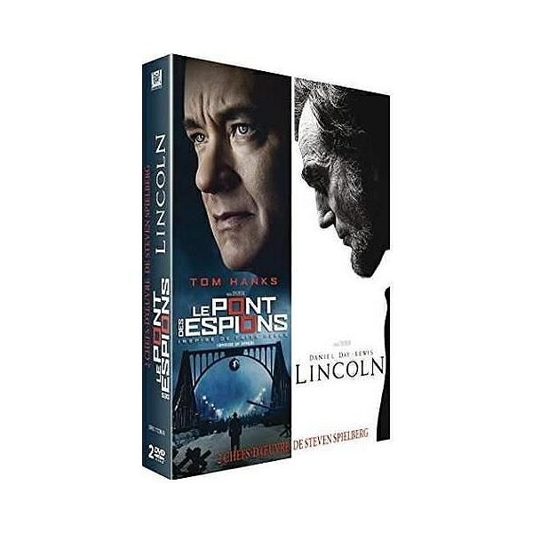 Coffret Spielberg 2 Films Le Pont Des Espions Lincoln