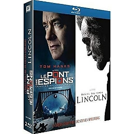 Coffret Spielberg 2 films : le pont des espions ; Lincoln, Blu-ray