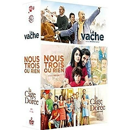 Coffret 3 films : la vache ; nous trois ou rien ; la cage dorée, Dvd
