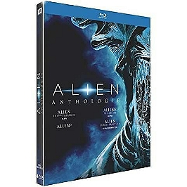 Coffret anthologie alien 4 films, Blu-ray
