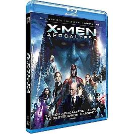 X-Men apocalypse, Blu-ray 3D