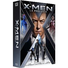 Coffret X-men prélogie 3 films : le commencement ; days of future past ; apocalypse, Dvd