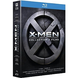 Coffret X-Men 6 films, Blu-ray