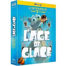 Coffret l'âge de Glace 5 films, Blu-ray