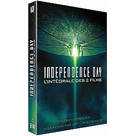 Coffret independence day 2 films : independence day ; resurgence, Dvd