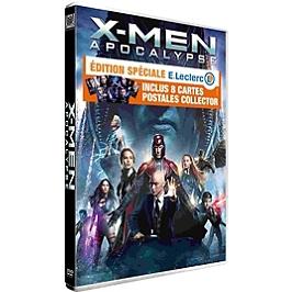 X-Men Apocalypse + 8 cartes postales Édition Spéciale E.Leclerc, Dvd