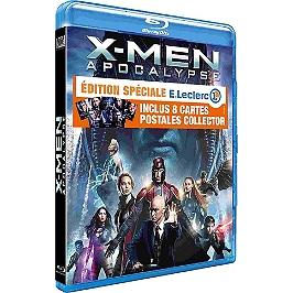 X-Men Apocalypse + 8 cartes postales Édition Spéciale E.Leclerc, Blu-ray