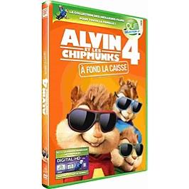 Alvin et les Chipmunks 4 : à fond la caisse, Dvd