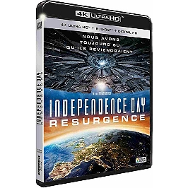 Independence day 2 : resurgence, Blu-ray 4K