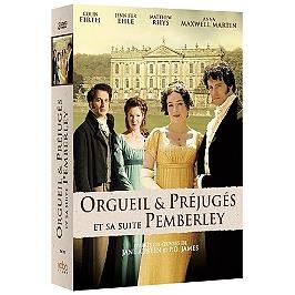 Coffret 2 mini-séries : orgueil et préjugés ; Pemberley, Dvd
