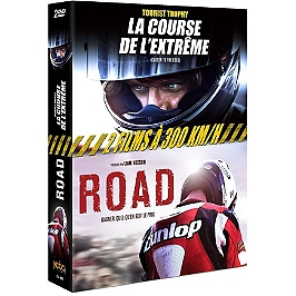Coffret moto 2 films : road ; tourist trophy - la course de l'extrême, Dvd