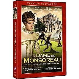 Coffret la dame de Monsoreau, Dvd