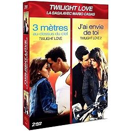 Coffret twilight love 2 films : 3 mètres au dessus du ciel ; j'ai envie de toi, Dvd