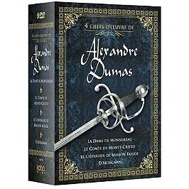 Coffret chefs-d'oeuvres d'Alexandre Dumas 4 films, Dvd