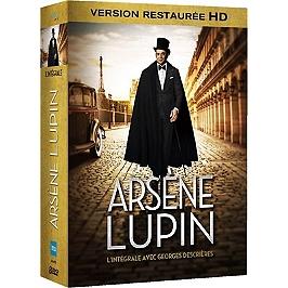 Coffret intégrale Arsène Lupin, Dvd