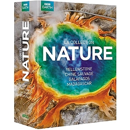 Coffret collection nature : Yellowstone ; Chine sauvage ; Galapagos ; Madagascar, Dvd