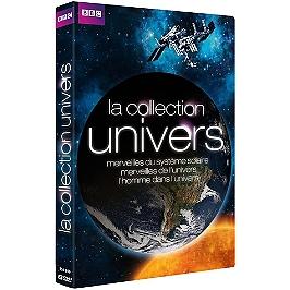 Coffret collection univers : merveilles du système solaire ; merveilles de l'univers ; l'homme dans l'univers, Dvd