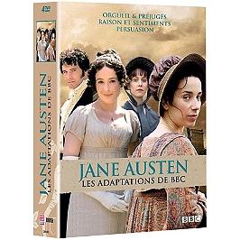 Coffret Jane Austen 3 mini-séries : orgueil et prejugés ; raison et sentiments ; persuasion, Dvd