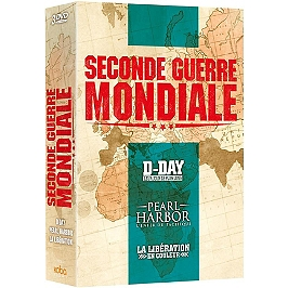 Coffret seconde guerre mondiale 3 documentaires : D-Day ; Pearl Harbor ; la Libération en couleur, Dvd