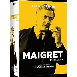 Coffret intégrale Maigret, Dvd