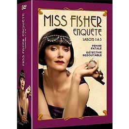 Coffret miss Fisher enquête, saisons 1 à 3, Dvd