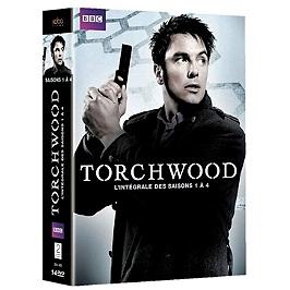 Coffret Torchwood, saisons 1 à 4, Dvd