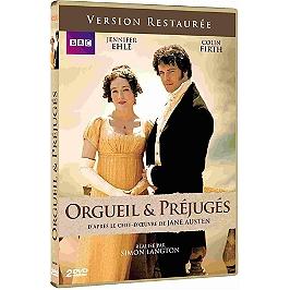 Coffret intégrale orgueil et prejugés, 6 épisodes, Dvd