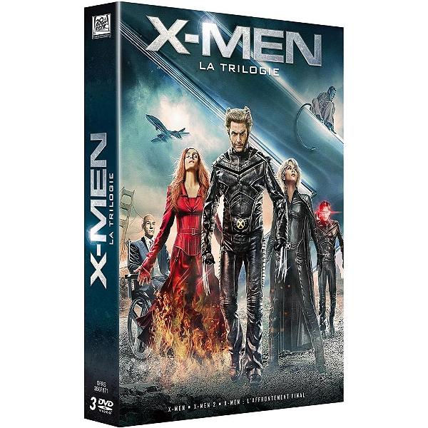 Dvd Coffret Trilogie X Men X Men 1 Et 2 L Affrontement Final