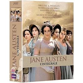 Coffret Jane Austen 6 mini-séries, Dvd