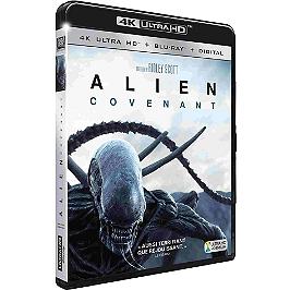 Alien : Covenant, Blu-ray 4K