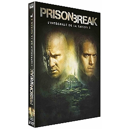 Coffret prison break, saison 5, Dvd