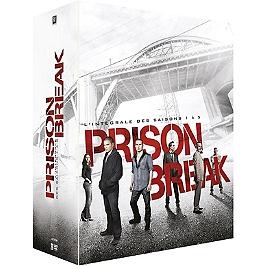 Coffret prison break, saisons 1 à 5, Dvd