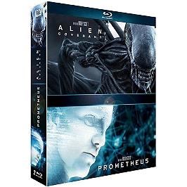 Coffret alien 2 films : Covenant ; Prometheus, Blu-ray
