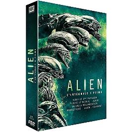 Coffret alien 6 films, Dvd