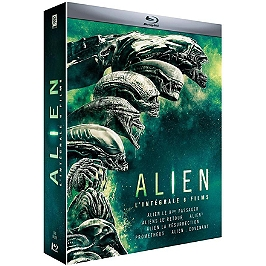 Coffret alien 6 films, Blu-ray