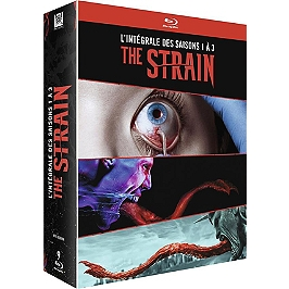 Coffret the strain, saisons 1 à 3, Blu-ray