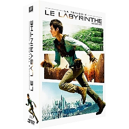 Coffret trilogie le labyrinthe : le labyrinthe ; la terre brûlée ; le remède mortel, Dvd