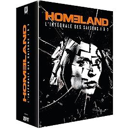 Coffret homeland, saisons 1 à 7, Dvd
