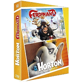Coffret animation 2 films : Ferdinand ; Horton, Dvd