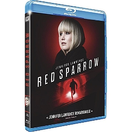 Red sparrow, Blu-ray