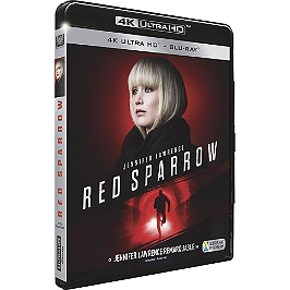 Red sparrow, Blu-ray 4K