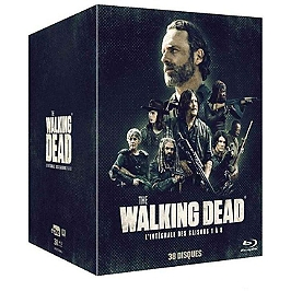 Coffret the walking dead, saisons 1 à 8, Blu-ray
