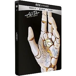 Alita : battle angel, Steelbook, Blu-ray 4K